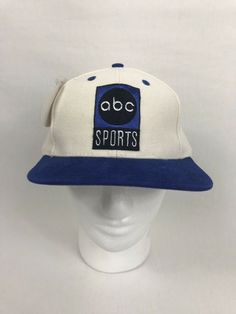 reputable site 2bb79 88705 VTG 90s ABC Sports SnapBack Hat Adjustable OSFA W Tags  fashion  clothing   shoes  accessories  mensaccessories  hats (ebay link)