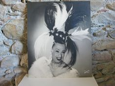 large publicity photo of female impersonator Hulla Djengo by Histoires See the whole Hulla Djengo collection including costumes, accessories and publicity photos in Histoires on Etsy #histoires
