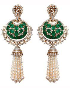 Gorgeous tassle earrings by Anmol