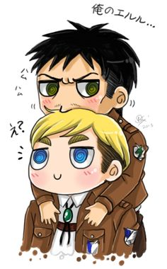 Erwin and Nile by fellow-traveller.deviantart.com on @DeviantArt