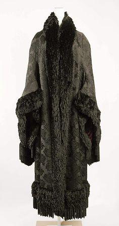 Cloak Designer: Emile Pingat  Date: 1879–80 Culture: French Medium: silk Accession Number: C.I.60.6.7