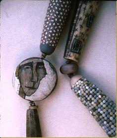 39 toops detail of sampler necklace