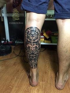 Hình xăm Maori, Maori tattoo,leg tattoo, man tattoo, hình xăm nam, hình xăm chân, hình xăm đẹp, xăm chất lượng, xăm nghệ thuật, xăm tả thật, xăm uy tín, xăm Hà Nội, Na Bia Tattoo, Địa chỉ : số 110 A11 Tôn Thất Tùng - Đống Đa - HN