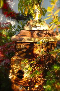 Rusty Garden Stove