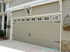 A Stylish Interior: Garage Door Makeover - Carriage Style
