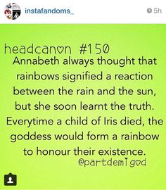 wow . . . just . . . wow. I'll never look at rainbows the same way . . .