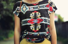 Pattern. Color. Excellent styling. Love it.