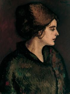 Isidre Nonell, Dolors (1910) on ArtStack #isidre-nonell #art