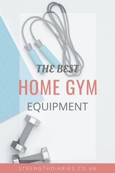 Not everyone likes working out in the gym, so I list my favourite pieces of home gym equipment to get the most out of your fitness regime. Gym Fitness, Physical Fitness, Health Fitness, Workout Accessories, Fitness Accessories, Building A Home Gym, Best Home Gym Equipment, Build Your Own House, Positive Body Image