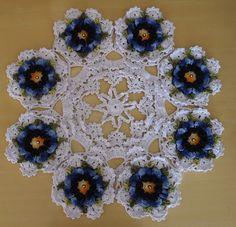 THE crochets OF ELSA: coffee table