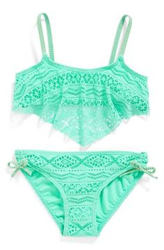 Girl's Gossip Girl 'Little Wild One' Two-Piece Swimsuit,