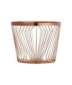 The Most Stylish H M Summer Decor Under 50 Metal Wire Basket 15