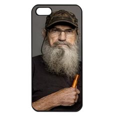 """Duck Dynasty Uncle Si Apple iPhone Case I want one that says """"I'm gonna teach this heifer a lesson!"""" Love Uncle Si"""