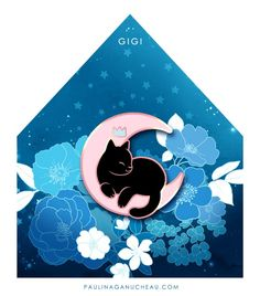 Image of Gigi Enamel Pin