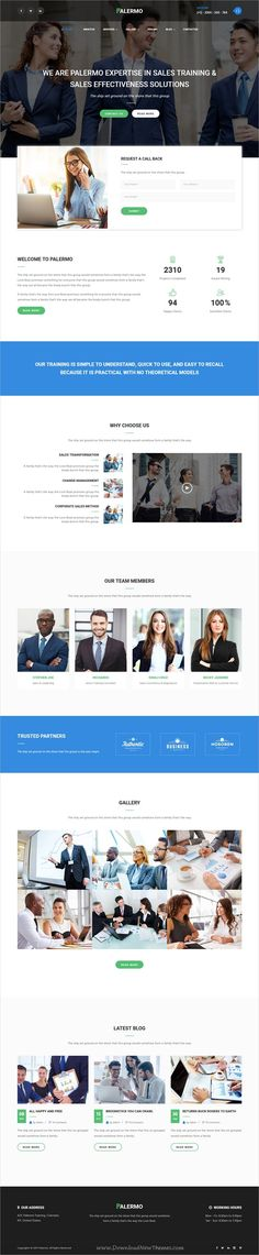 Palermo is clean and modern design 3in1 responsive #HTML5 bootstrap template for #webdev Training, #Coaching, Consulting & Business website download now➩  https://themeforest.net/item/palermo-training-coaching-consulting-business-html-template/19492606?ref=Datasata