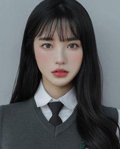 Ulzzang Short Hair, Asian Short Hair, Ulzzang Korean Girl, Girl Short Hair, Korean Bangs Hairstyle, Korean Hairstyles Women, Girl Hairstyles, Japanese Hairstyles, Asian Hairstyles