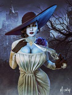 Castle Drawing, Resident Evil Game, Survival, Evil Art, Female Dragon, Video Game Art, Horror Art, Batgirl, Cool Artwork