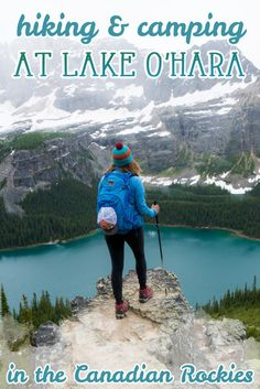 Four days at Lake O'Hara was the highlight of my Canadian Rockies trip. Get my detailed hiking & camping guide to this British Columbia National Park. Hiking Guide, Camping Guide, Hiking Trails, Yoho National Park, National Parks, Camping Places, Camping Cabins, Canadian Rockies, Canada Travel