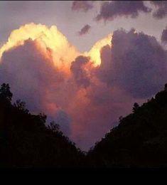 Hart in de wolken