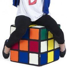 Este puf del cubo de Rubik nos ha encantado ¿y a ti? #molariaentinytien