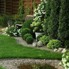 60 Beautiful Front Yards And Backyard Evergreen Garden Design Ideas - artmyideas