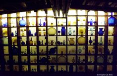 Wall of Glass from House on the Rock in Spring Green, Wisconsin