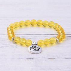 Citrine Solar Plexus Chakra Bracelet Solar Plexus Chakra, Chakra Bracelet, Bracelet Sizes, Plexus Products, Quartz, Gemstones, Bracelets, Lotus, Meditation