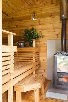 Outdoor Sauna, Outdoor Decor, Saunas, Cottage, Cabin, Wood, Muoto, House, Sauna Ideas