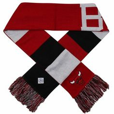 '47 Brand Chicago #Bulls Baker Scarf - Red/Black/White $19.95