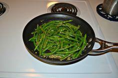 Green Beans with Rosemary Garlic Butter #SundaySupper