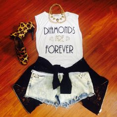 'Cause diamonds and girls are best friends!