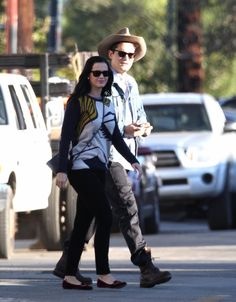 John Mayer and Katy Perry in Santa Barbara, CA.