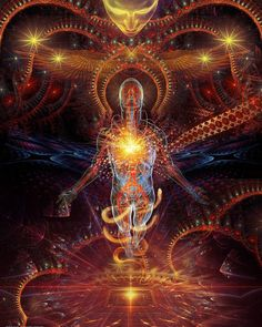 Mystery Of The Aeon DMT-Dream Matrix Transportation: by Shaman-E Psychedelic Art, Bonheur Simple, Esoteric Art, Psy Art, Mystique, Visionary Art, Sacred Art, Fractal Art, Sacred Geometry