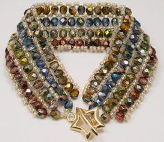 Deb Roberti's Ribbon Candy Bracelet