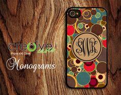 iphone 4 case  iphone 4s case  plastic  monogram  by Cre8iveCases, $14.99