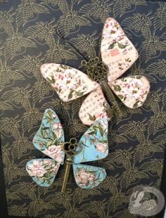 Graphic 45 Bird Song Altered Art--would be cute in a frame with contrasting scrapbook paper behind. diykeyprojects : Graphic 45 Bird Song Altered Art--would be cute in a frame with contrasting scrapbook paper behind. Graphic 45, Old Key Crafts, Arts And Crafts, Diy Crafts, Diy Key Projects, Craft Projects, Craft Ideas, Butterfly Crafts, Butterfly Art