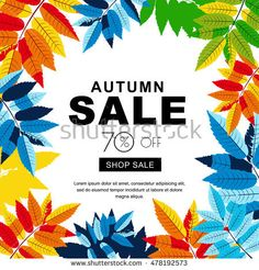 Illustration about Autumn sale banners with multicolor autumn leaves. Layout for discount labels, flyers and shopping. Illustration of fashion, illustration, botany - 76756673 Leaves Vector, Sale Banner, Botany, Art School, Lorem Ipsum, Autumn Leaves, Design Art, Fall