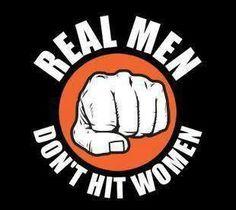 Cowards hit women
