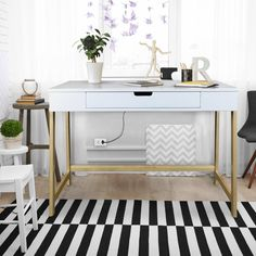 Buy Neorustic Smart Desk with USB Ports, White & Natural Online in USA at Best Prices. This executive smart desk ai furniture is ideal for home, office, students, small spaces etc. Samana, Smart Desk, Smart Home, Office Furniture Stores, Furniture Deals, Furniture Outlet, Online Furniture, Furniture Companies, Luxury Furniture