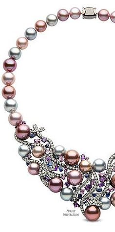 Yoko London Aphrodite Collection (black gold, diamonds, sapphires, amethyst, freshwater pearls) | Purely Inspiration