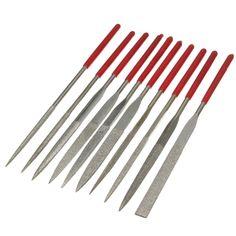 Jewellers Silversmiths 115mm Fine Round Needle File Medium Cut