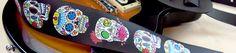 Custom Printed Guitar Straps - Grover Allman