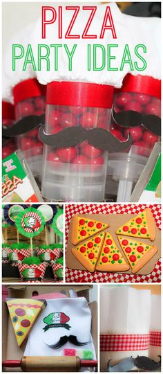 So many amazing ideas at this pizza birthday party! See more party ideas at CatchMyParty.com!