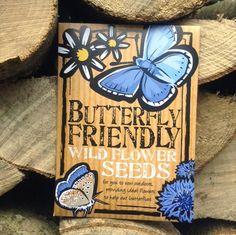 butterfly friendly wild flower seeds by bee friendly seeds   notonthehighstreet.com
