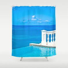 infinity Shower Curtain by emmaleerose - $68.00