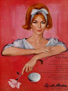 60s ad : Wild Pink by Elizabeth Arden | Flickr - Fotosharing!