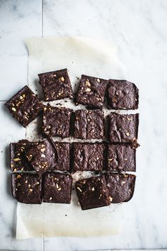 Flourless Browned Butter Brownies {Gluten-Free + Grain-Free}