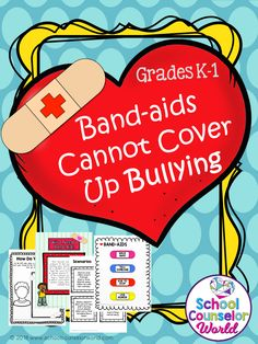 #Lessonplan on #bullying in #social #interactions for Grades K-1. NEVER create another guidance lesson again with our #ASCA aligned #elementary #classroomguidancelessons! Each lesson plan has a Word doc and a PDF that includes all activities and printables. #counselors #student #socialskills #children #activities #kids #classroom #teaching #charactereducation #schoolcounseling #schoolcounselor #schoocounselorworld
