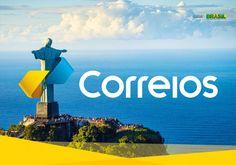 The new identity for Empresa Brasileira de Correios e Telégrafos (Brazilian Post and Telegraph Corporation) aka Correios.
