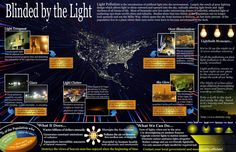 Light Pollution hurts everyone Backyard Storage Sheds, Shed Storage, Bat Conservation International, Blinded By The Light, Clutter Solutions, Light Pollution, Shed Plans, Worlds Of Fun, Infographic